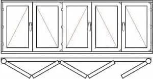 123 26 - Деревянные окна