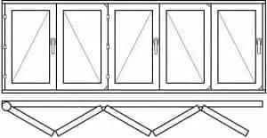 123 29 - Деревянные окна