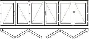 123 33 - Деревянные окна
