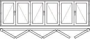 123 37 - Деревянные окна