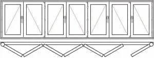 123 41 - Деревянные окна