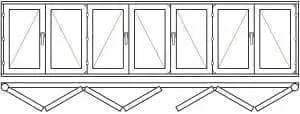 123 45 - Деревянные окна