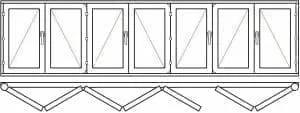 123 48 - Деревянные окна