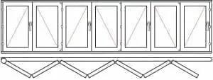123 50 - Деревянные окна