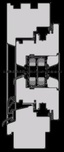 78 eco 126x300 - Деревянные окна